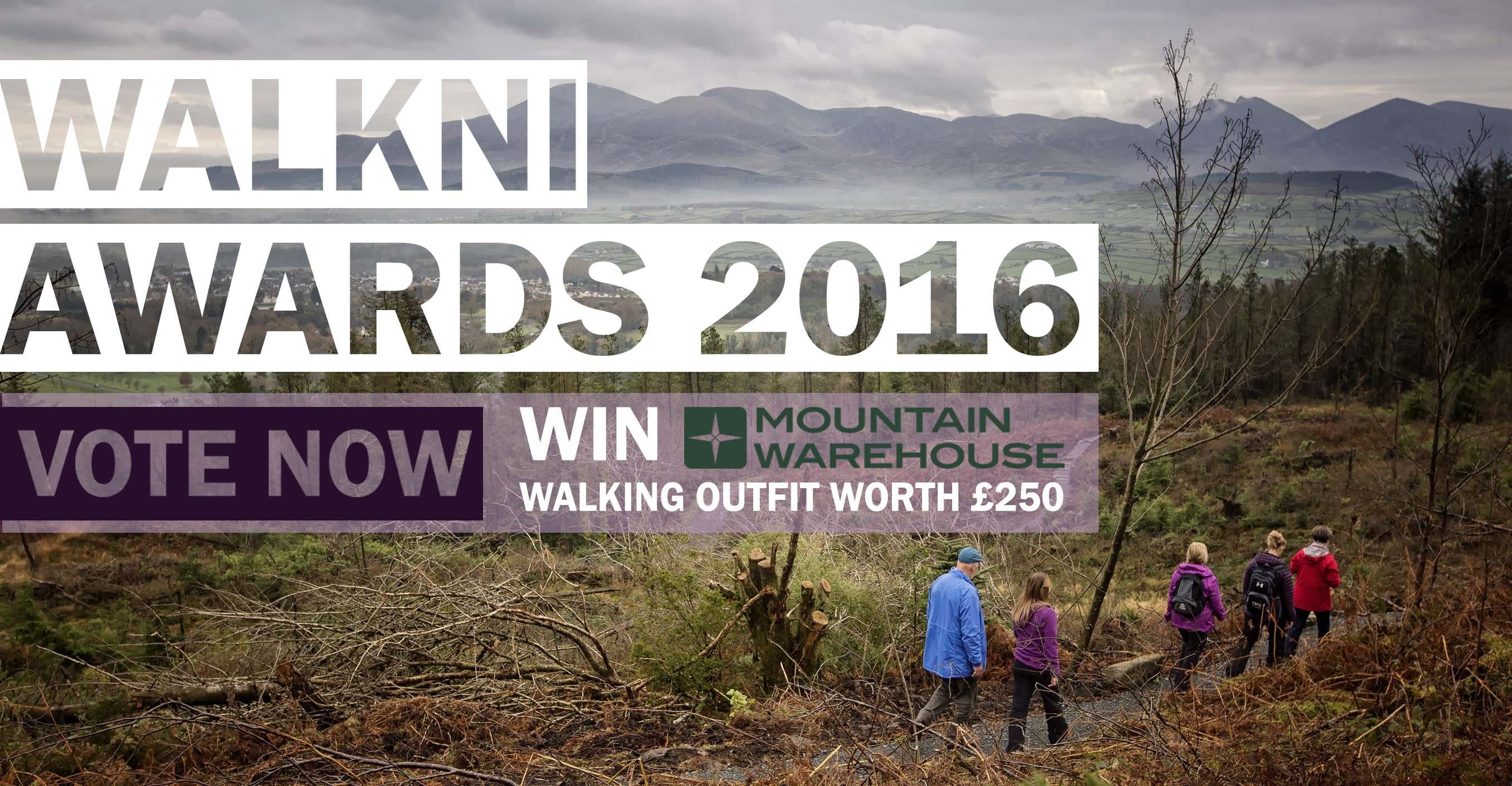 WalkNI Awards Vote Now